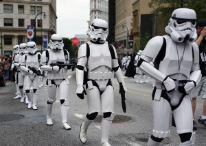 Parade of Stormtroopers