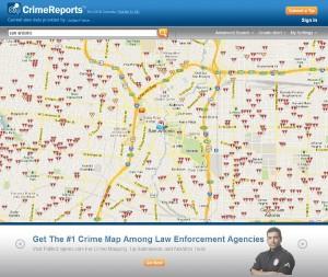 CrimeReports.com - Crime Map