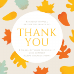 Happy Thanksgiving from Kimberly Howell Properties