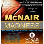Congratulations to Our McNair Madness Winners