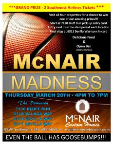 McNair Madness (McNair Custom Homes)